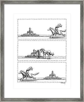 New Yorker November 2nd, 1987 Framed Print