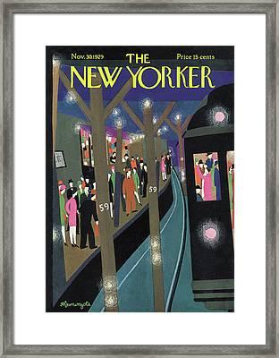 New Yorker November 30th, 1929 Framed Print