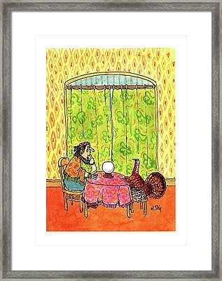 New Yorker November 30th, 1992 Framed Print by William Steig