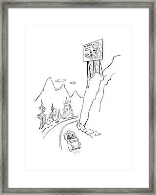 New Yorker November 4th, 1944 Framed Print