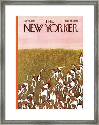 New Yorker November 6th, 1965 Framed Print
