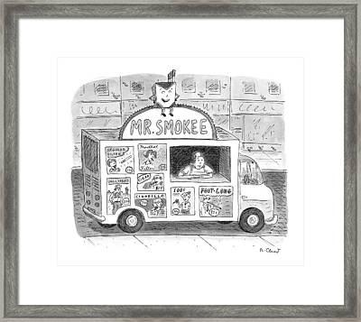 New Yorker November 6th, 1995 Framed Print by Roz Chast