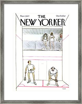 New Yorker November 7th, 1977 Framed Print