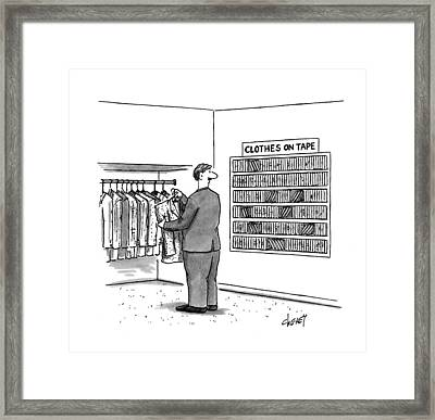 New Yorker November 7th, 1994 Framed Print by Tom Cheney