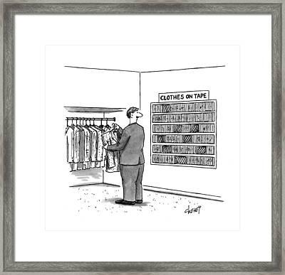New Yorker November 7th, 1994 Framed Print