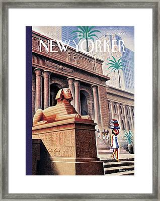 New Yorker November 7th, 2005 Framed Print