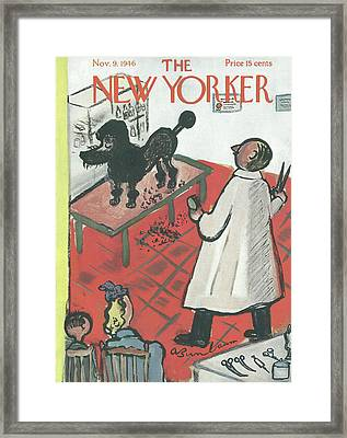New Yorker November 9th, 1946 Framed Print by Abe Birnbaum