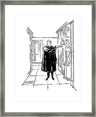 New Yorker November 9th, 1963 Framed Print