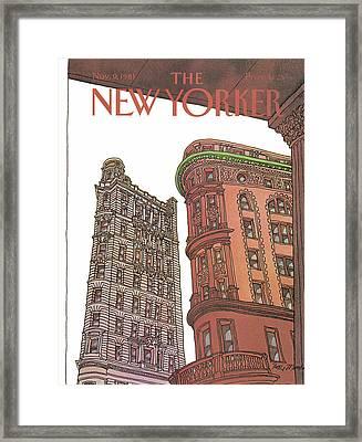 New Yorker November 9th, 1981 Framed Print by Roxie Munro