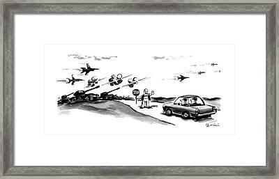 New Yorker November 9th, 1987 Framed Print by Eldon Dedini