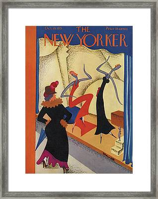 New Yorker October 10th, 1931 Framed Print by Theodore G. Haupt