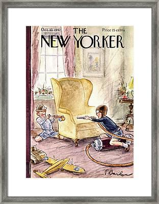 New Yorker October 10th, 1942 Framed Print