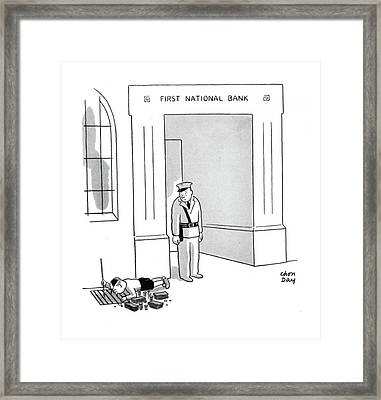 New Yorker October 11th, 1941 Framed Print by Chon Day