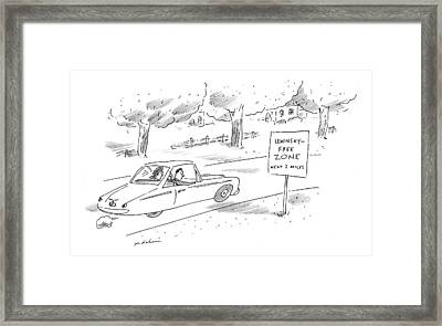 New Yorker October 12th, 1998 Framed Print by Michael Maslin
