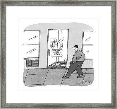 New Yorker October 12th, 1998 Framed Print by Peter C. Vey