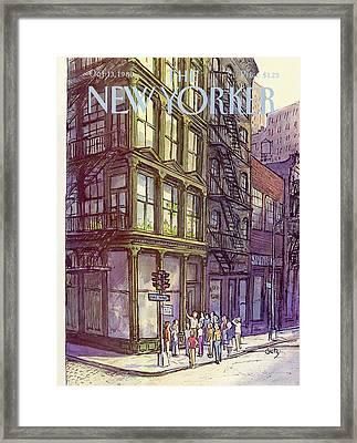 New Yorker October 13th, 1980 Framed Print by Arthur Getz