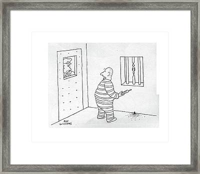 New Yorker October 14th, 1944 Framed Print by Roy Williams