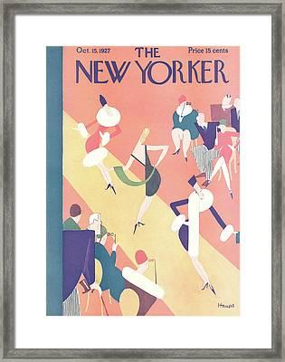 New Yorker October 15th, 1927 Framed Print