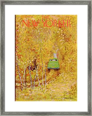 New Yorker October 15th, 1949 Framed Print