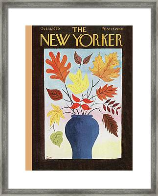 New Yorker October 15th, 1960 Framed Print