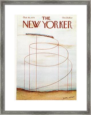 New Yorker October 15th, 1979 Framed Print by Paul Degen