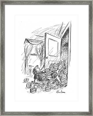 New Yorker October 16th, 1943 Framed Print