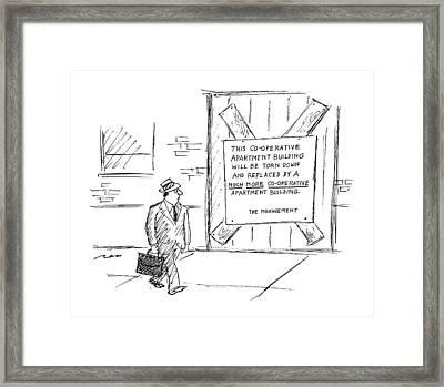 New Yorker October 16th, 1995 Framed Print