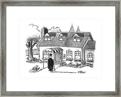 New Yorker October 16th, 1995 Framed Print by Peter Steiner