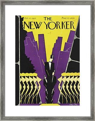 New Yorker October 17th, 1925 Framed Print