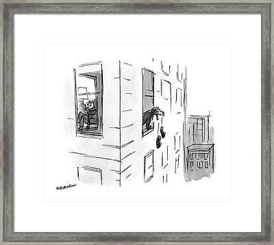 New Yorker October 17th, 1988 Framed Print