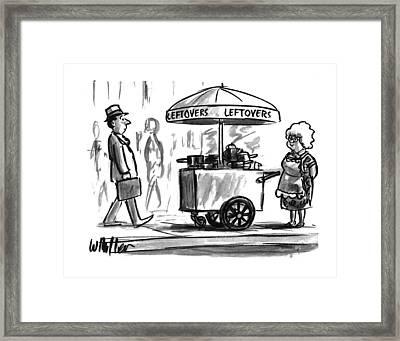 New Yorker October 17th, 1994 Framed Print