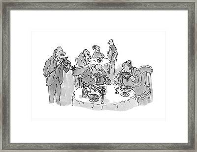 New Yorker October 18th, 1993 Framed Print by William Steig
