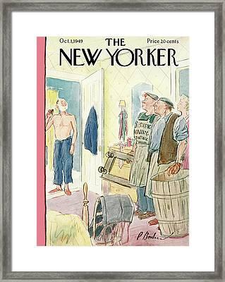 New Yorker October 1st, 1949 Framed Print