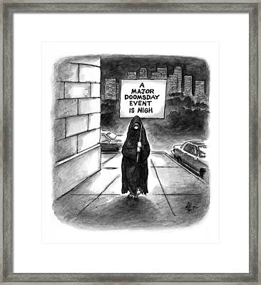 New Yorker October 20th, 1997 Framed Print by Frank Cotham