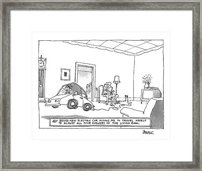 New Yorker October 20th, 1997 Framed Print by Jack Ziegler