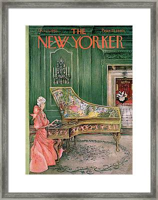 New Yorker October 21st, 1961 Framed Print by Mary Petty