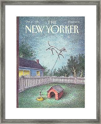 New Yorker October 21st, 1991 Framed Print