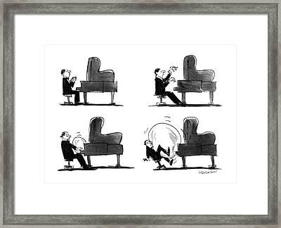 New Yorker October 22nd, 1984 Framed Print by James Stevenson
