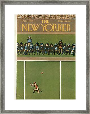 New Yorker October 24th, 1970 Framed Print