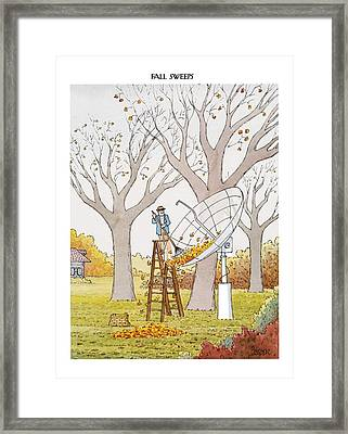 New Yorker October 25th, 1993 Framed Print by Jack Ziegler