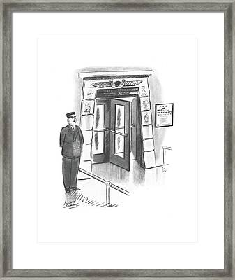 New Yorker October 26th, 1940 Framed Print by Louis Jamme