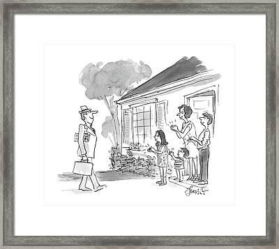 New Yorker October 26th, 1987 Framed Print