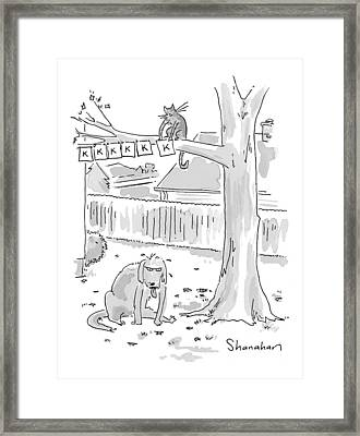 New Yorker October 26th, 1998 Framed Print