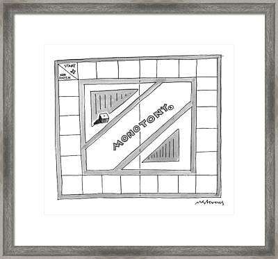 New Yorker October 26th, 1998 Framed Print by Mick Stevens