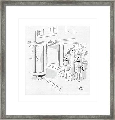 New Yorker October 28th, 1944 Framed Print