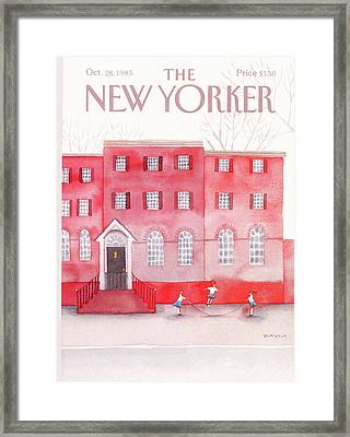New Yorker October 28th, 1985 Framed Print