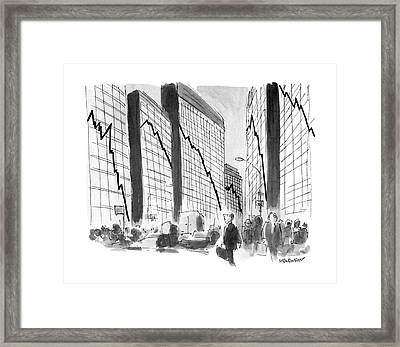 New Yorker October 29th, 1990 Framed Print by James Stevenson