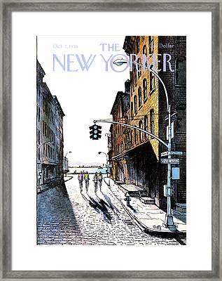 New Yorker October 2nd, 1978 Framed Print