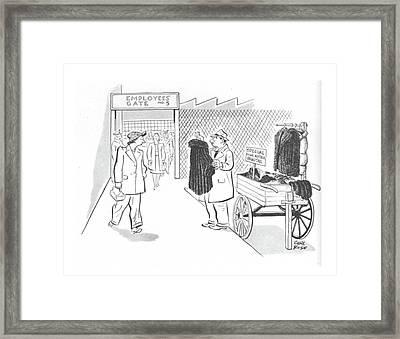 New Yorker October 30th, 1943 Framed Print
