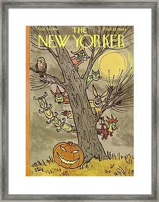 New Yorker October 31st, 1959 Framed Print